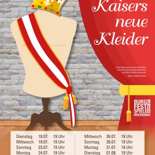 Des Kaisers neue Kleider_Plakat